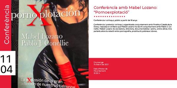 Conferència Mabel Lozano