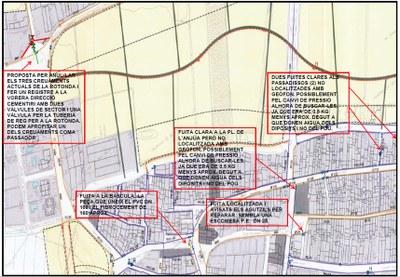 Localització de fuites detectades