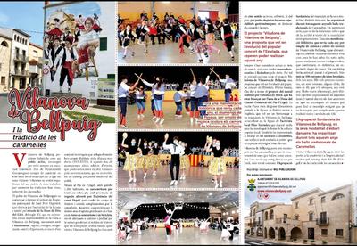 Reportatge caramelles de Vilanova de Bellpuig