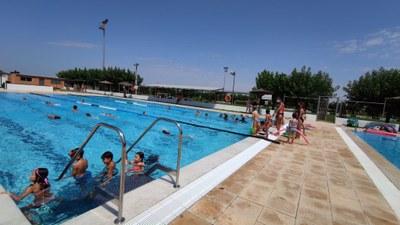 Activitat a les piscines