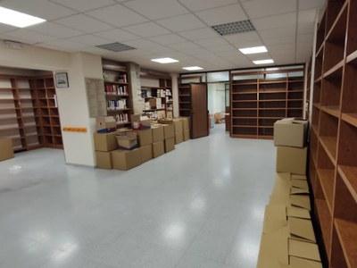 S'inicia la remodelació de la biblioteca municipal Glòria Tudela
