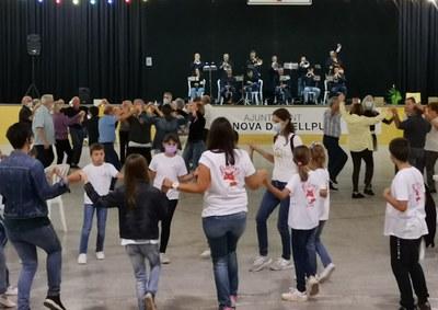 Se celebra el 34è Aplec de la Sardana de Vilanova de Bellpuig