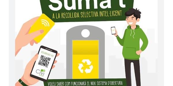 Vilanova comptarà al mes de juny amb contenidors intel·ligents