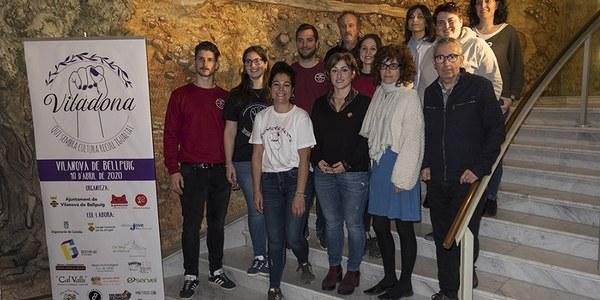 Vilanova de Bellpuig presenta el projecte cultural i artístic 'Viladona'