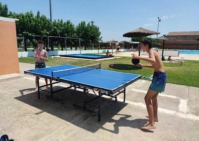 Vilanova fomenta la pràctica esportiva del pàdel i del tennis taula