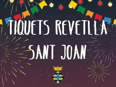 Tiquests Revetlla de Sant Joan