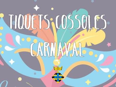 Tiquets Cassoles Carnaval